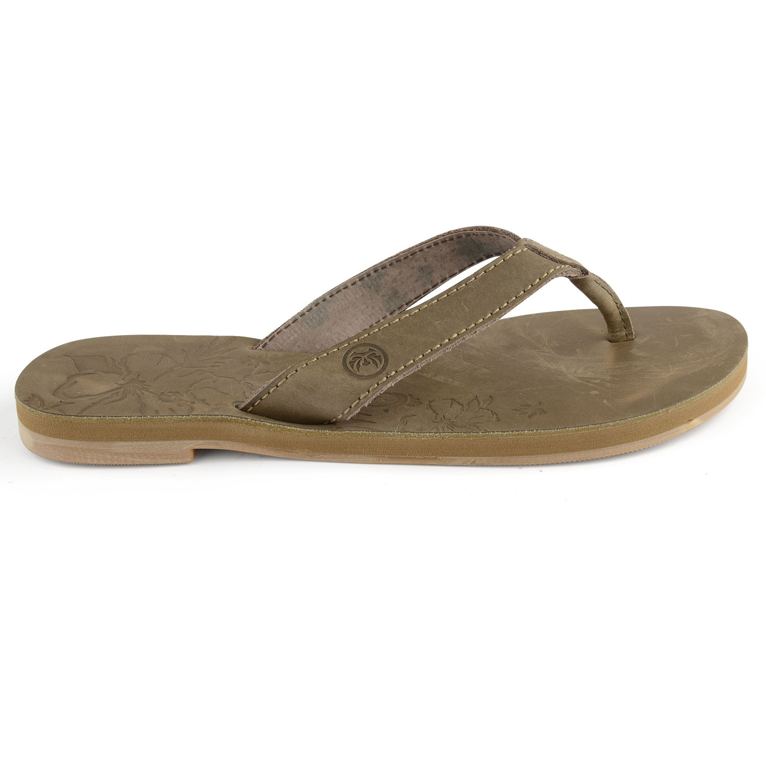 347e57ef8d640 Womens Brown Leather Flip Flops Long Island- Free Delivery Over £20 ...