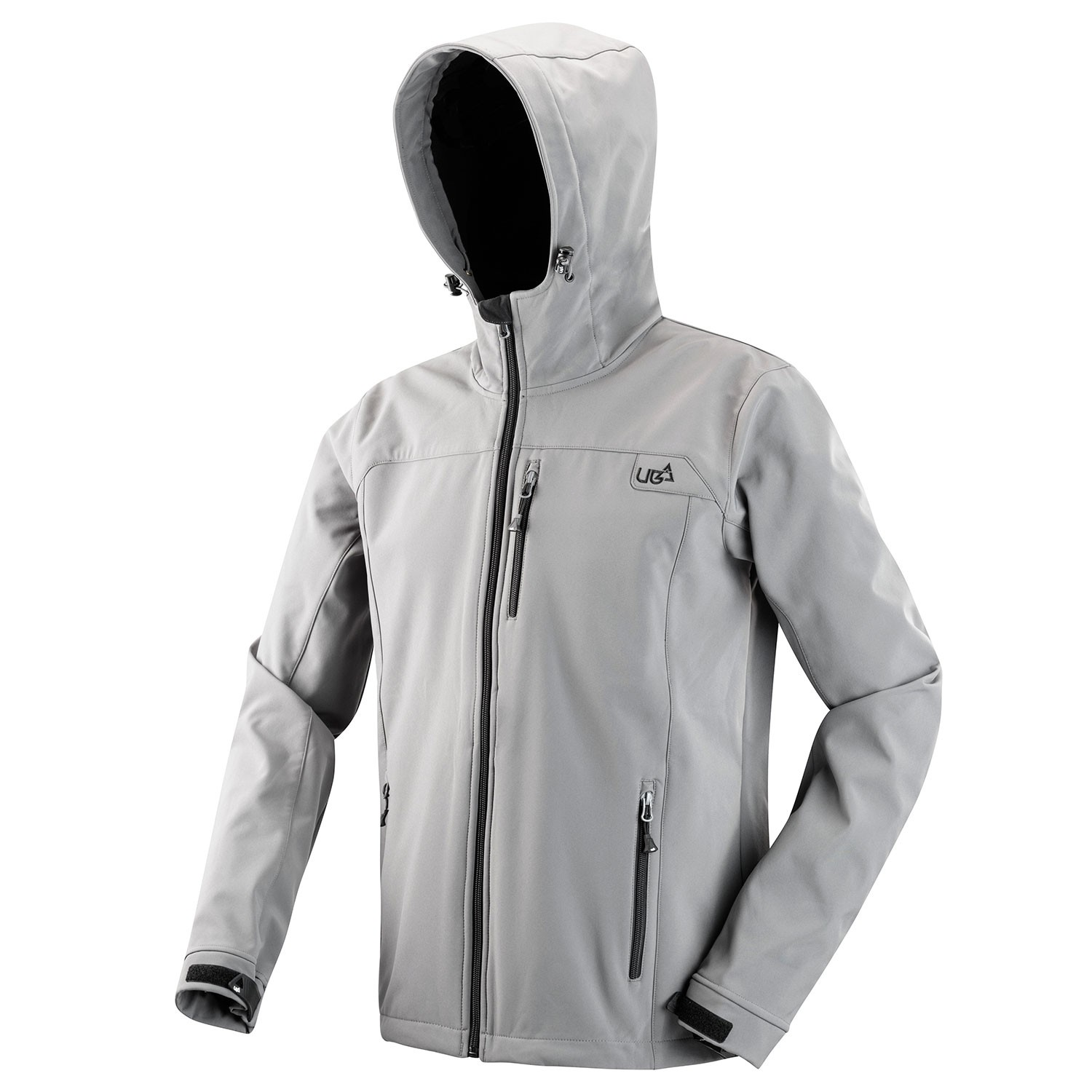 Mens Grey Soft Shell Jacket Gargoyle Free Delivery Over 163