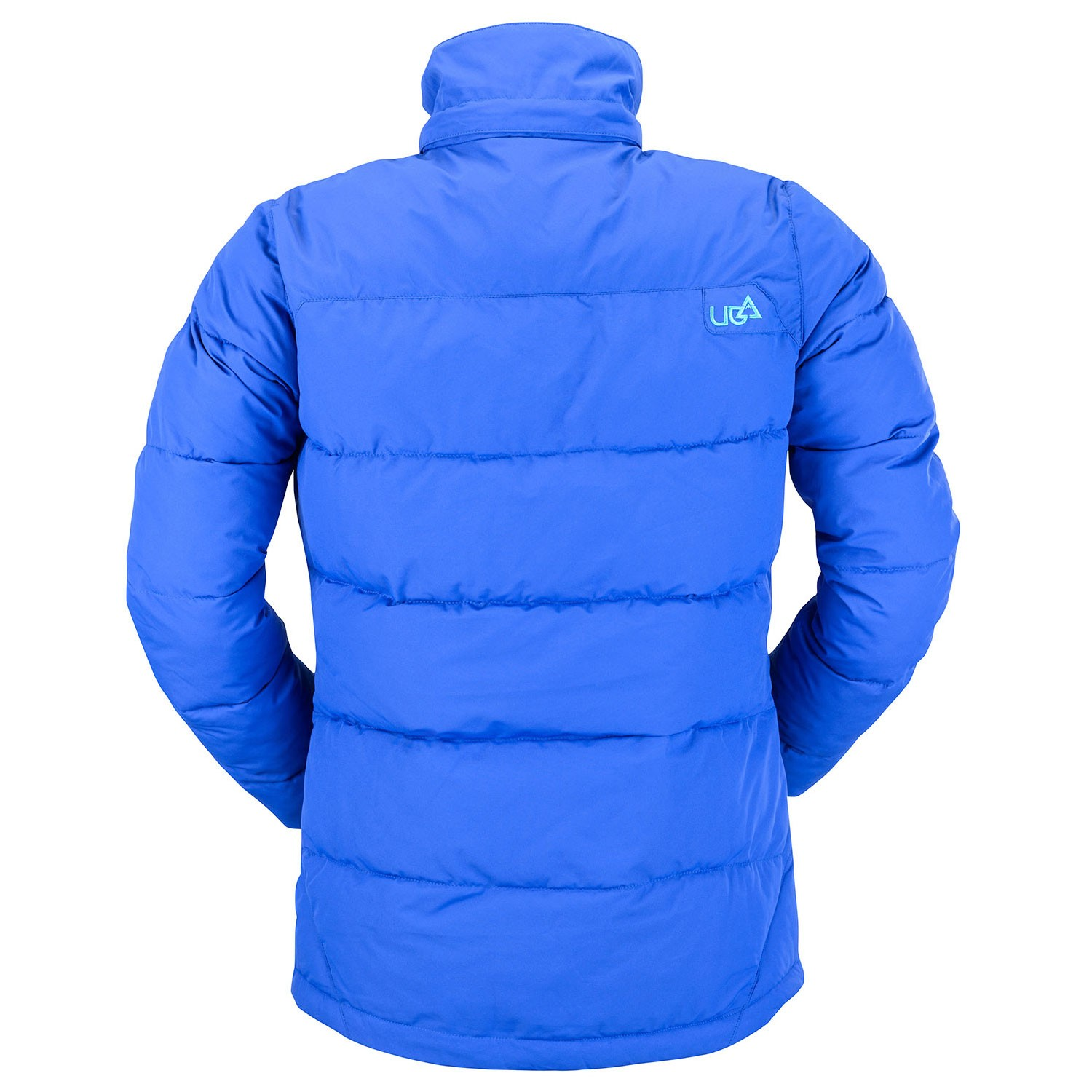 Womens Royal Blue Puffer Jacket Ultramarine Free Delivery