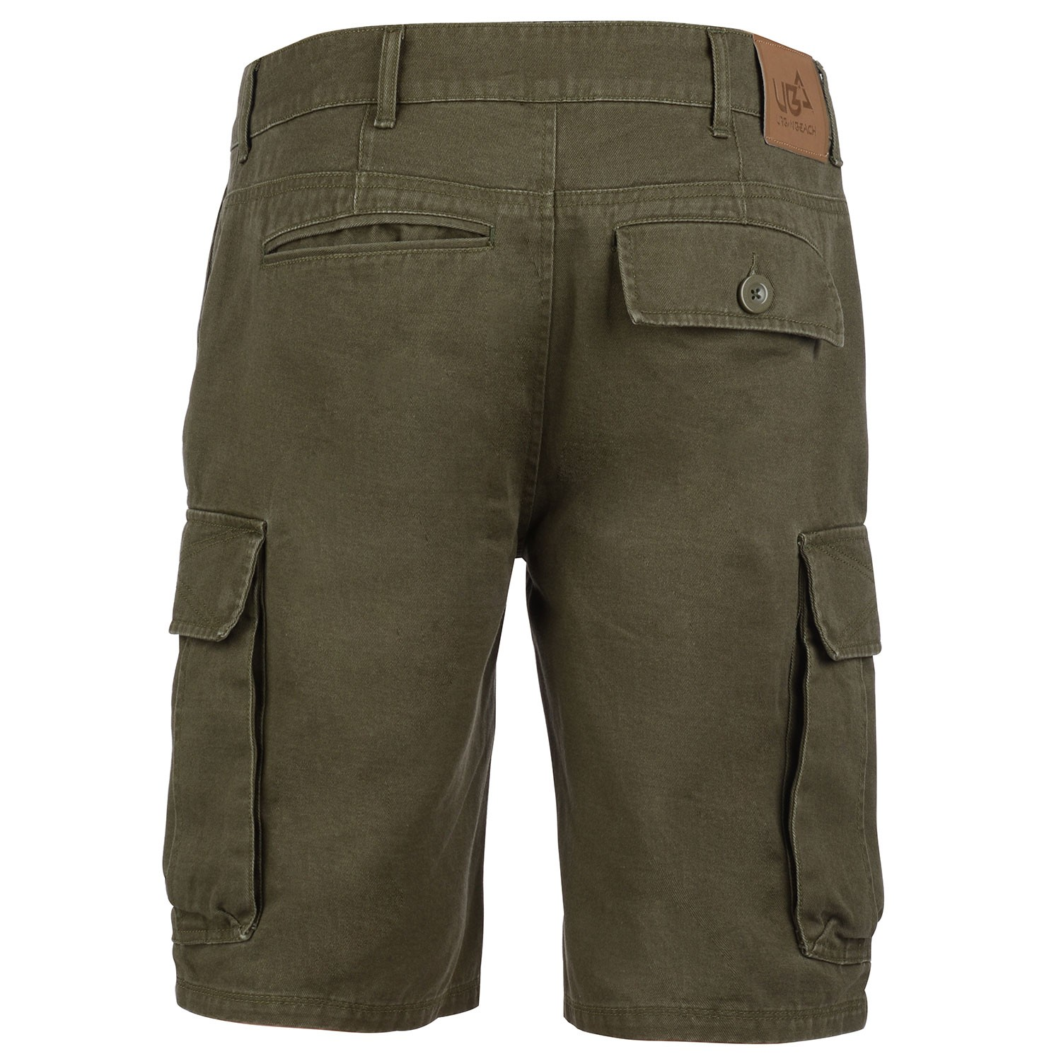 Khaki shorts for men are made from the finest, breathable cotton that guarantee comfort all day long. The machine washable feature means easy clean up. Go traditional flat-front or cargo.