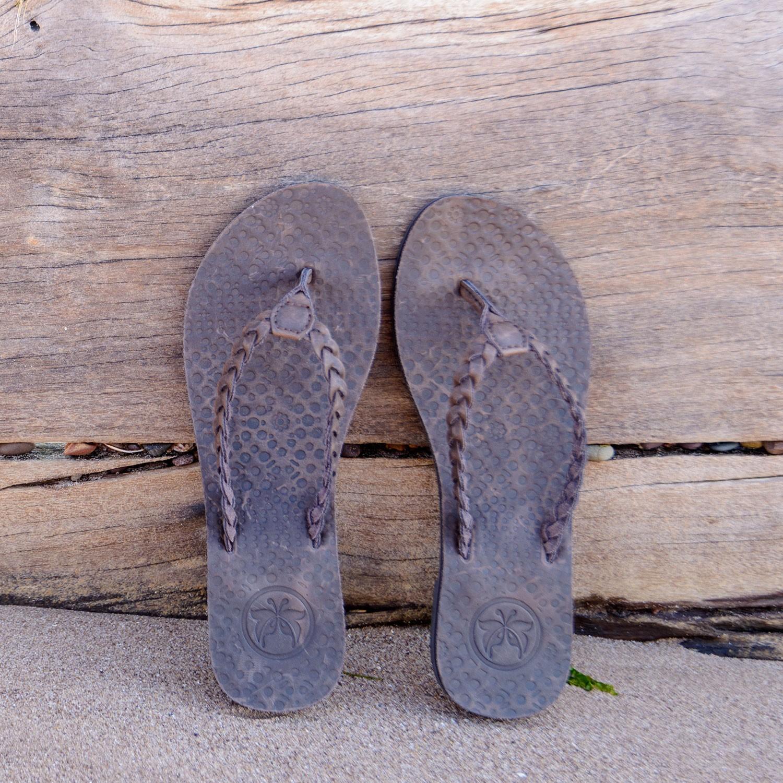 614ac73e78fb Women s Leather Jungle Beach Brown Flip Flops. Style  FW778 Colour  Brown
