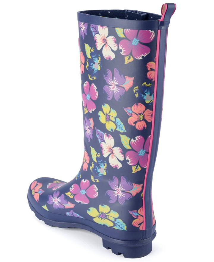 Womens Floral Wellies Free Delivery Over 163 20 Urban Beach