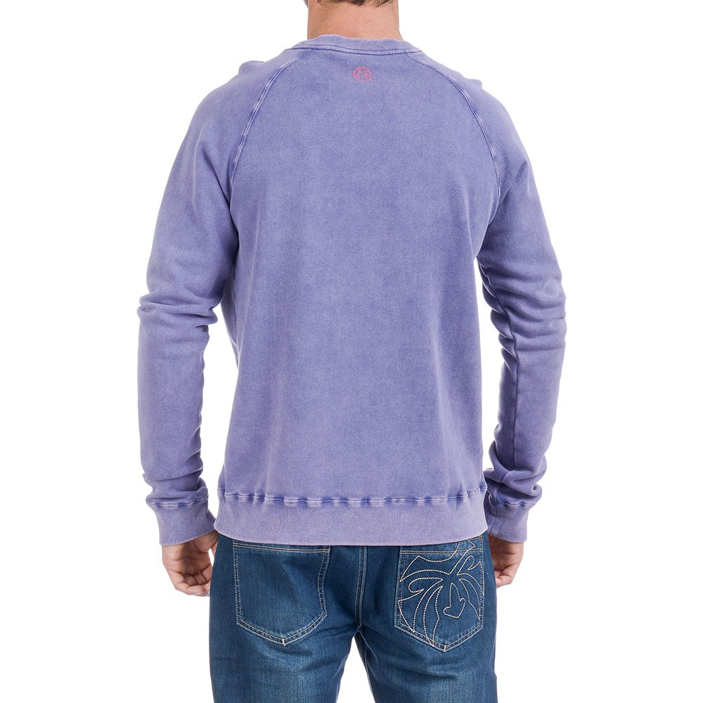 Mens Purple Sweatshirt Smith Free Delivery Over 163 20