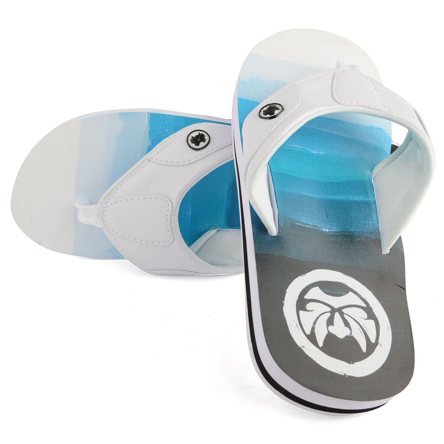 Mens Mirage White Flip Flop
