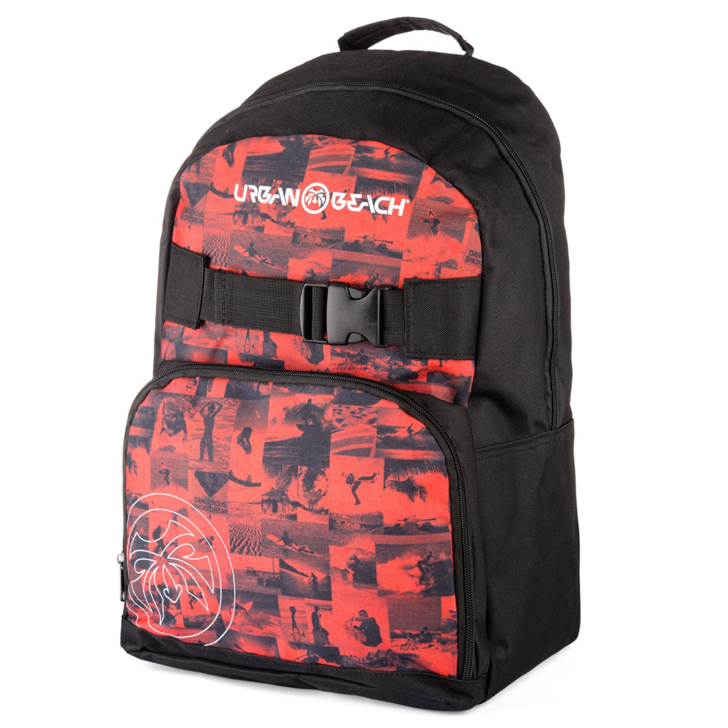 Mens Safelight Rucksack Red
