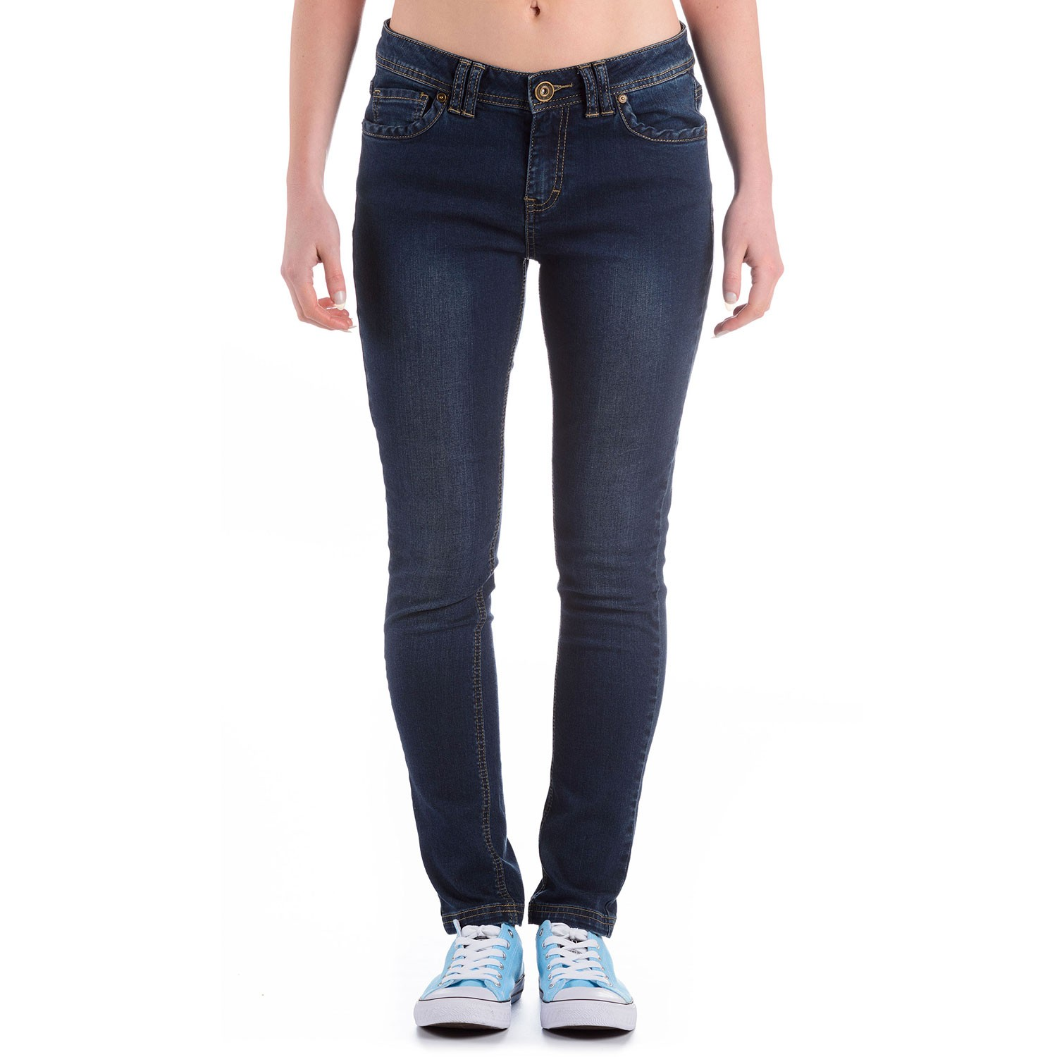 Womens Dark Blue Denim Jeans Meteor - Free Delivery Over £20 ...