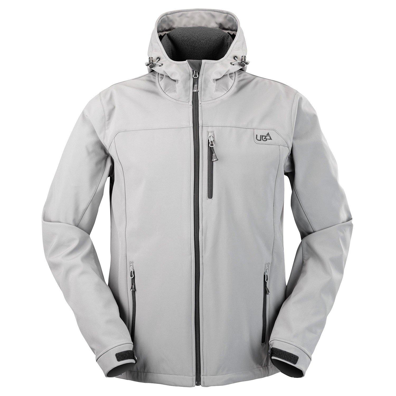 Mens Grey Soft Shell Jacket Gargoyle- Free Delivery Over £ ...