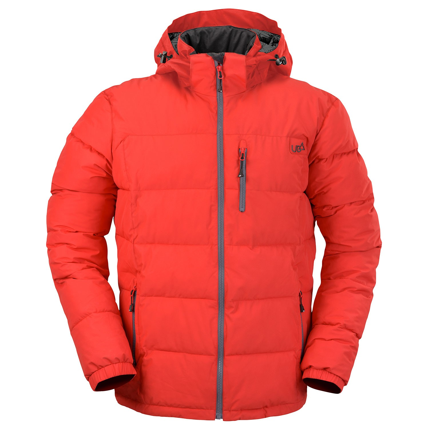 Mens Red Puffer Jacket Tocan- Free Delivery Over £20 - Urban Beach c94a302b3