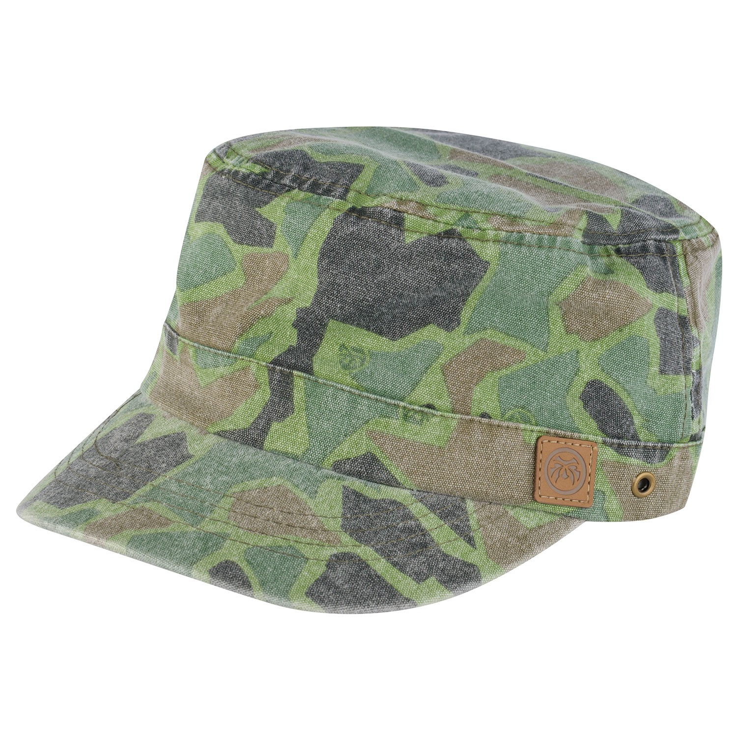 Camo Military Hat Cuba- Free Delivery Over £20 - Urban Beach cd31171c392b