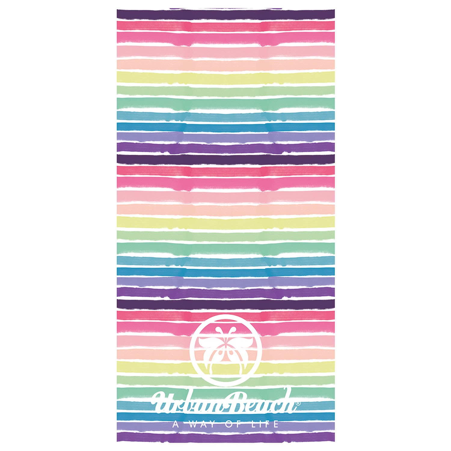 Brush Stroke Beach Towel