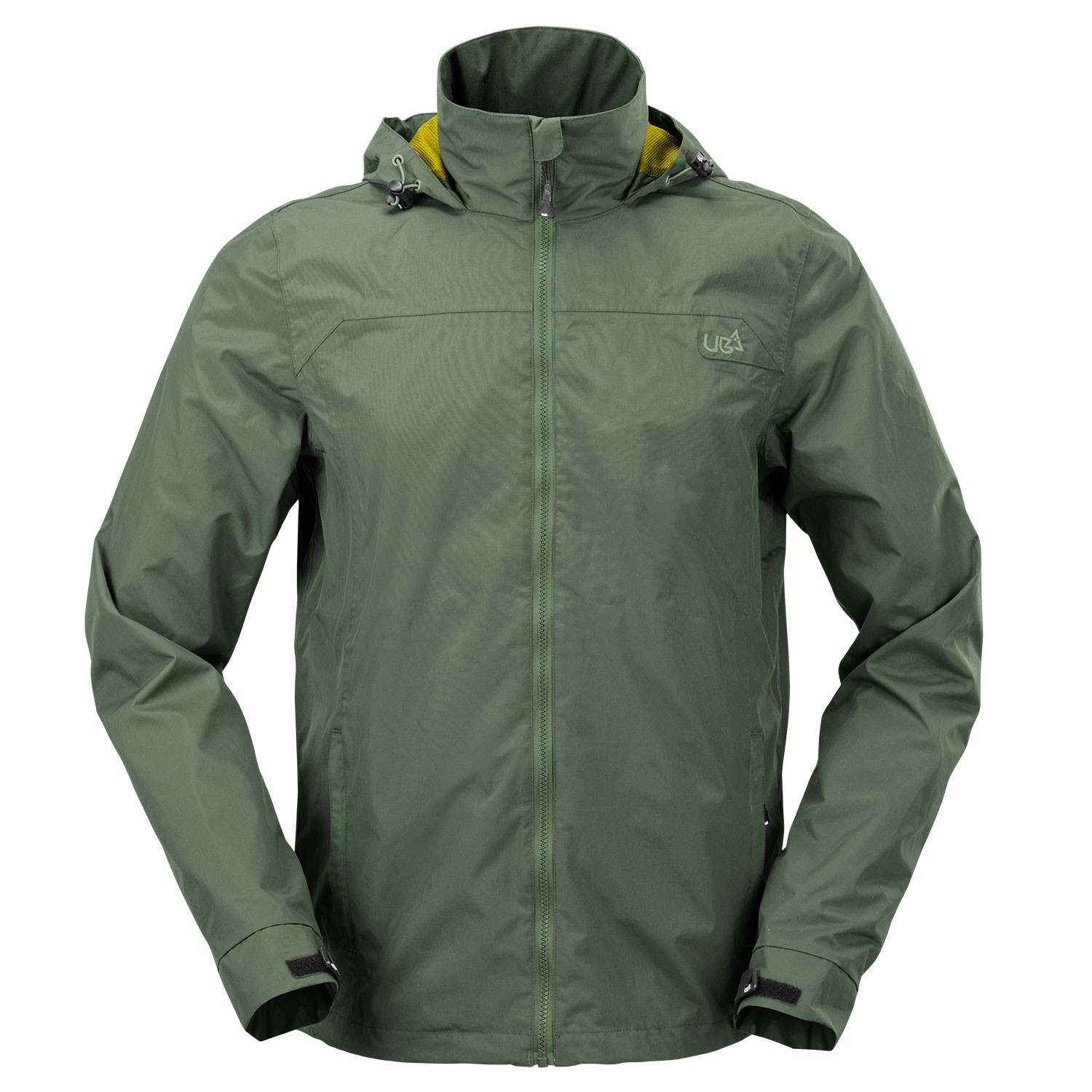 Mens Green Waterproof Jacket OB- Free Delivery Over £20 - Urban Beach
