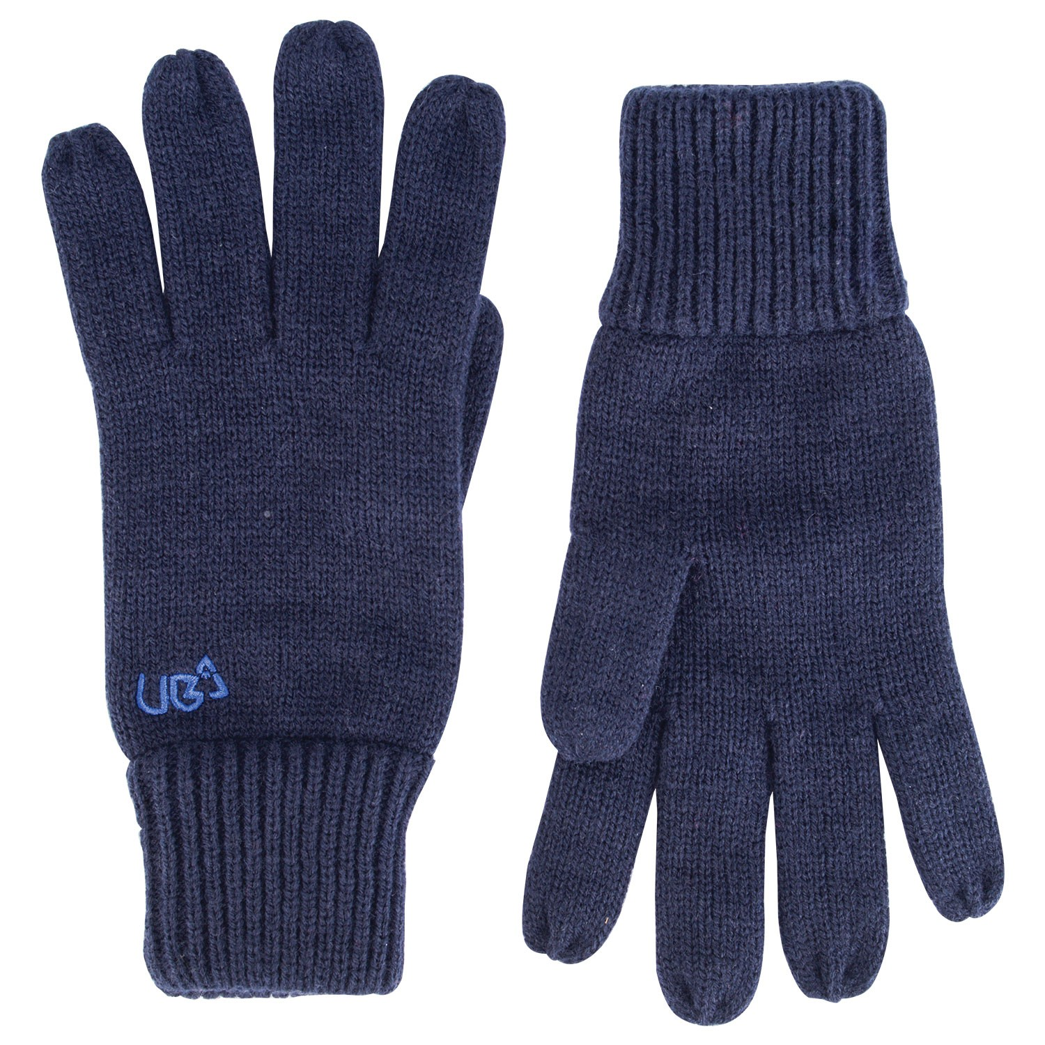 Plain Navy Blue Gloves Drifter- Free Delivery Over £20
