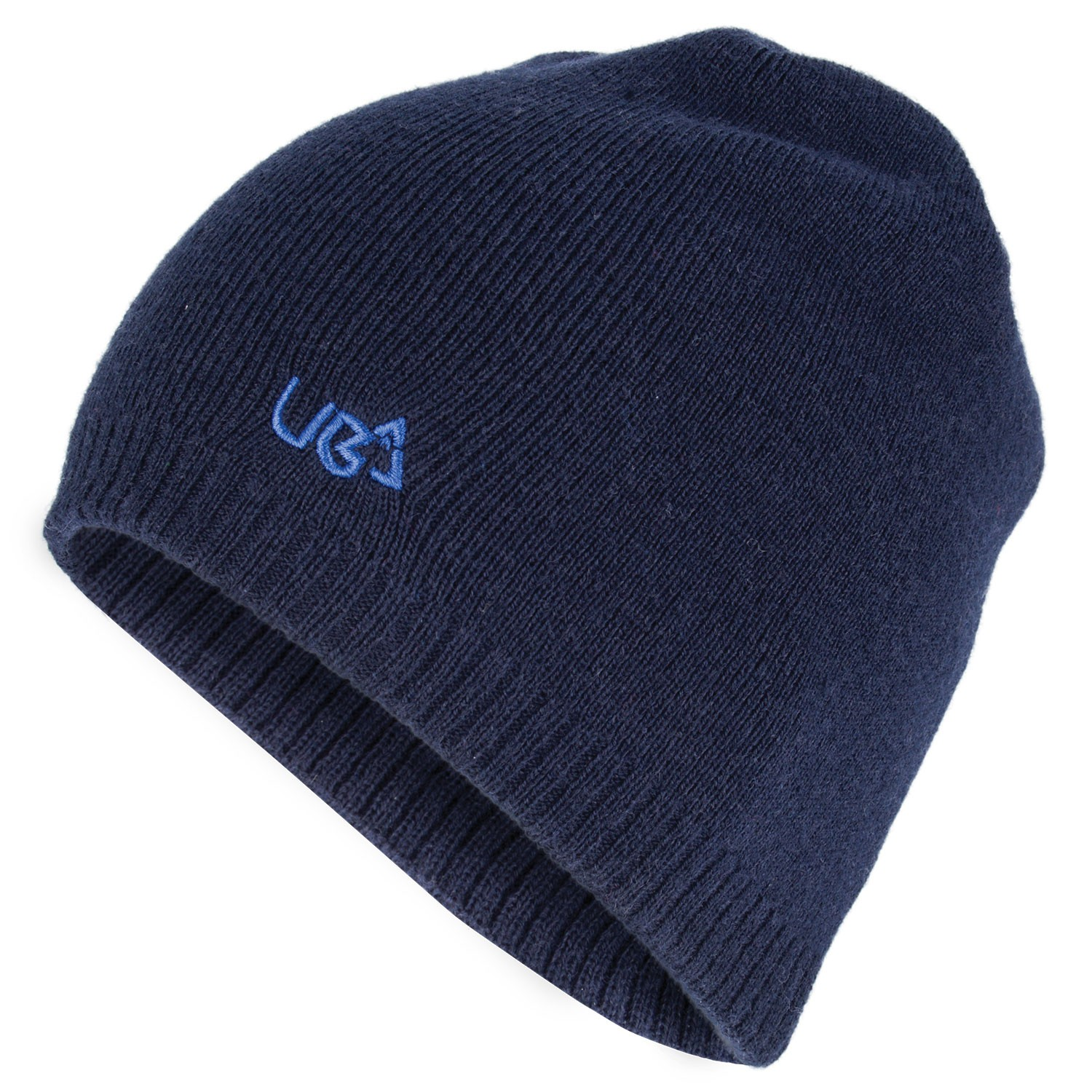 Plain Navy Blue Beanie Hat Nomad- Free Delivery Over £20 - Urban Beach a49d36d0c8b