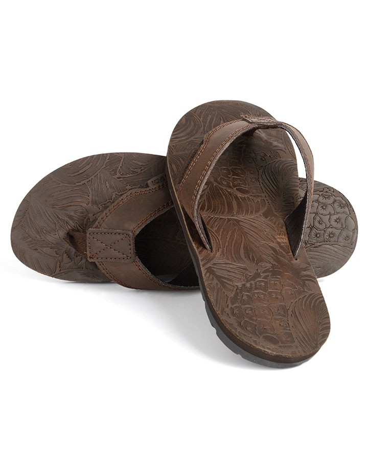 df82b3c4f741 Mens Thar Leather Flipflops - Flip Flops - Footwear - Mens