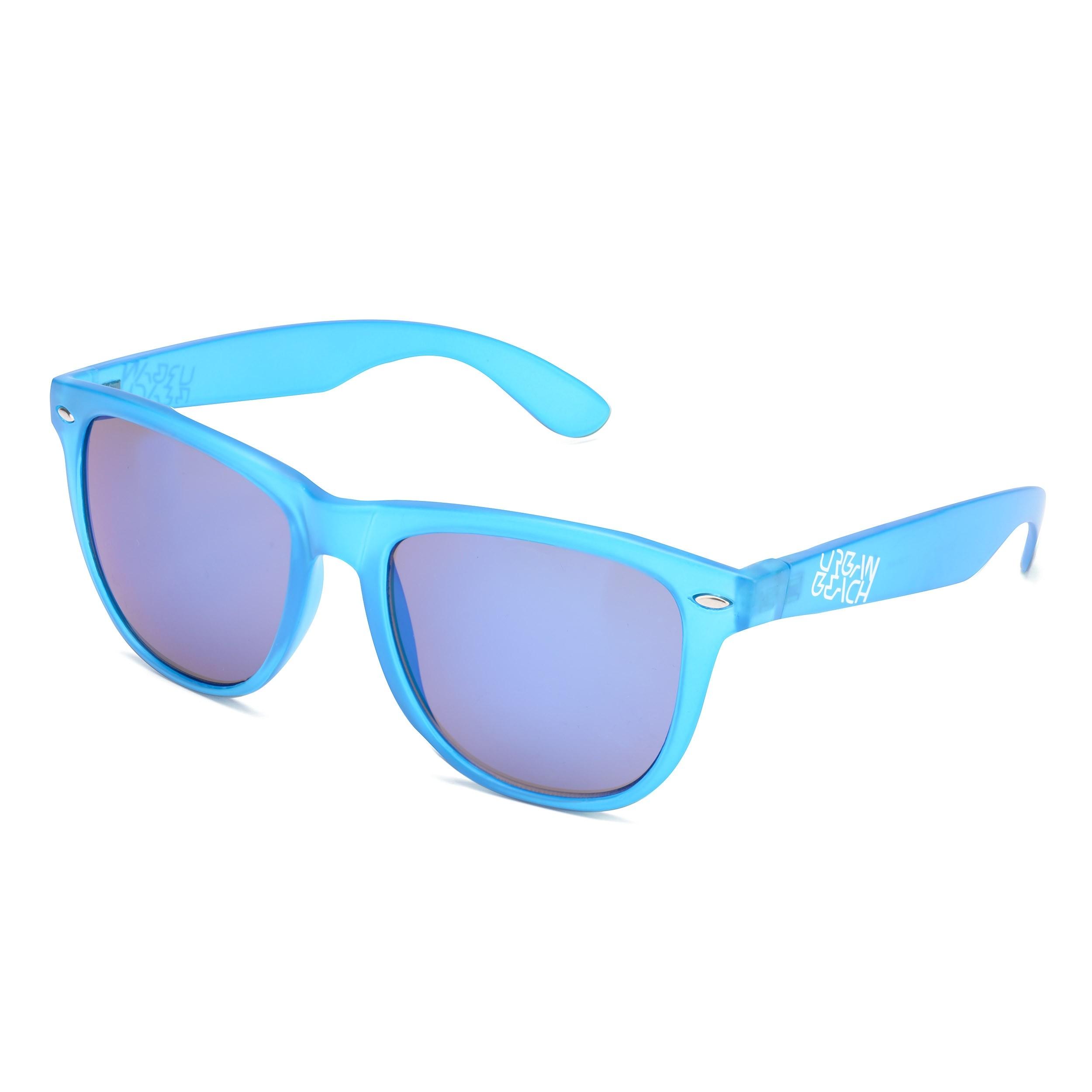 Unisex Blue Tron Sunglasses