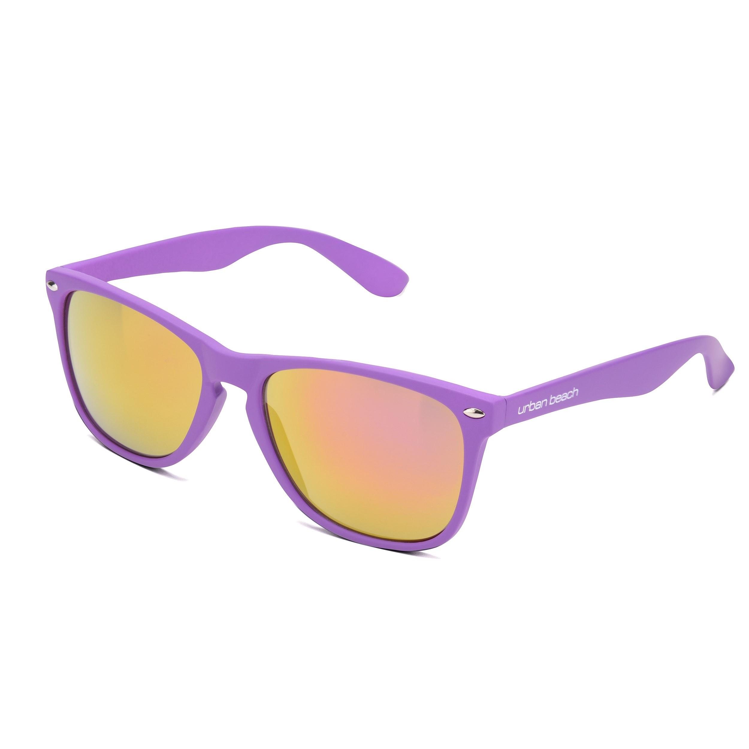 Unisex Zeus Purple Sunglasses
