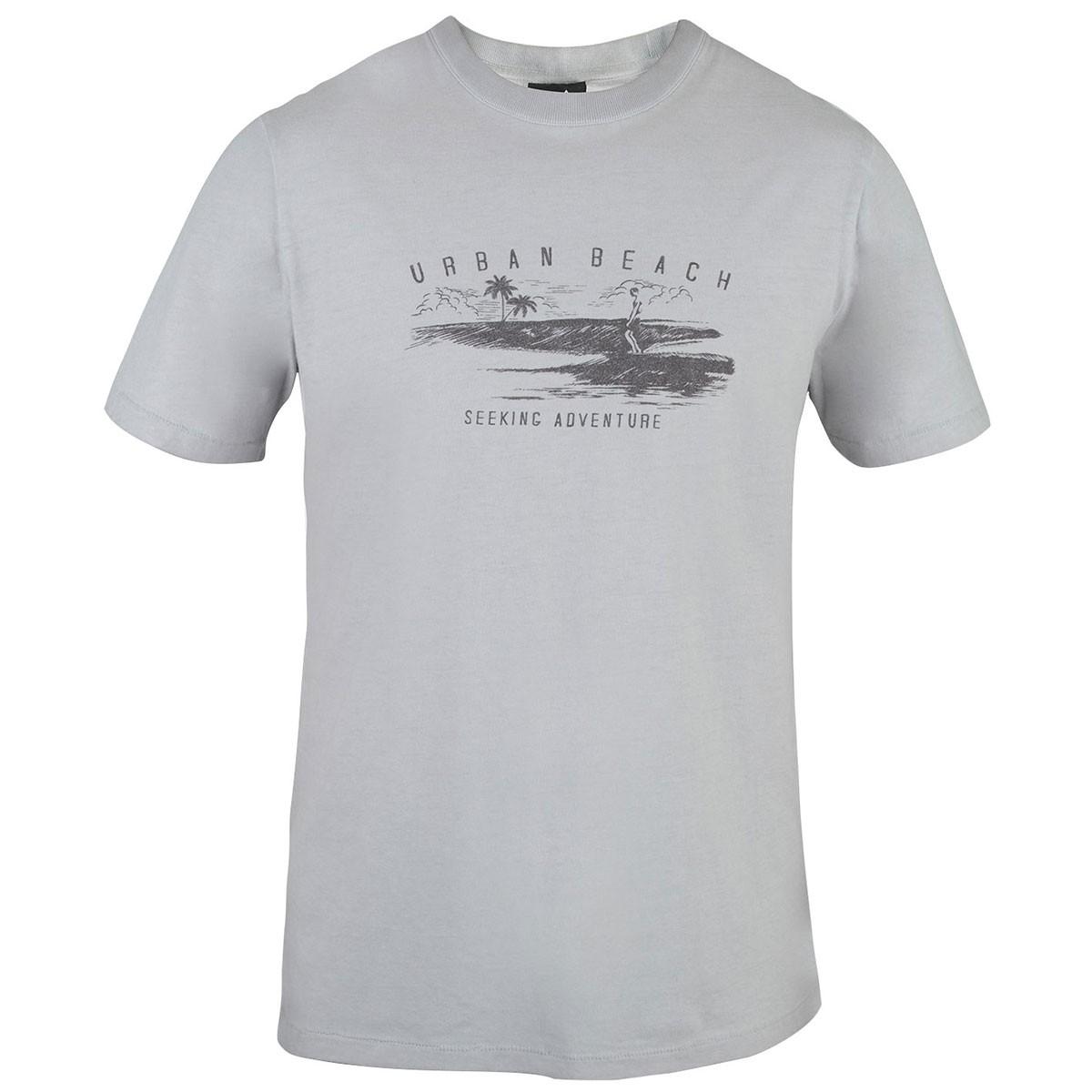 Mens Aiea T-Shirt - Grey