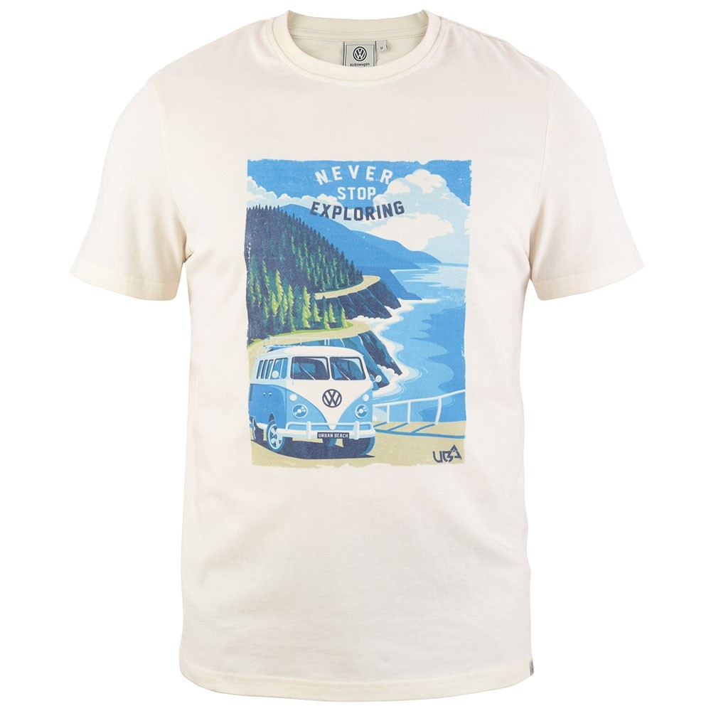 6af88295 Men's Sorrel T-Shirt - Cream - Urban Beach Clothing
