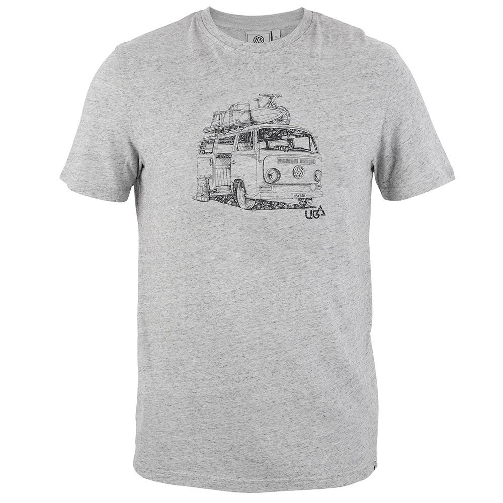 Mens Kunal T-Shirt - Grey