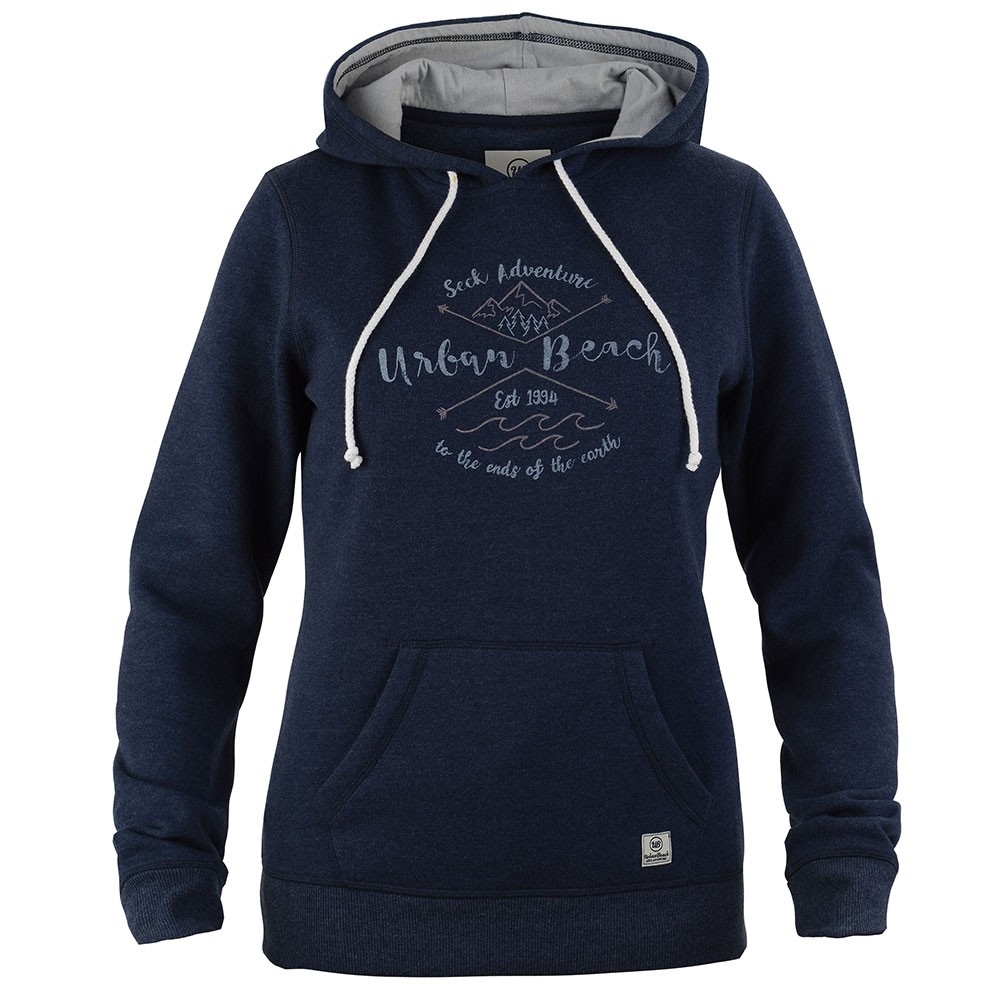 503bd4a40d Women's Sunny Hoodie - Navy - Urban Beach Clothing