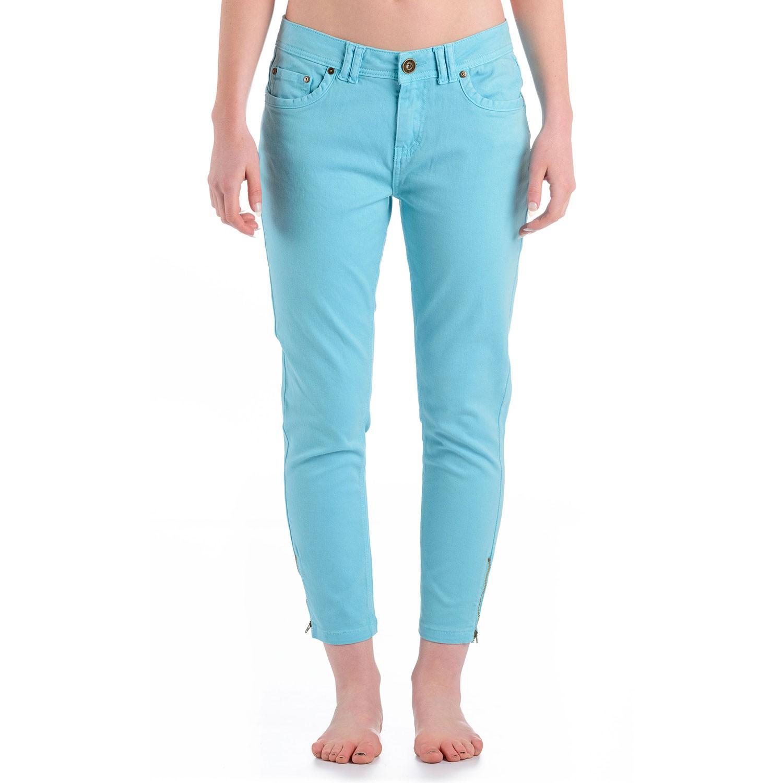 Womens Comet 3/4 Denim Jeans Light Blue
