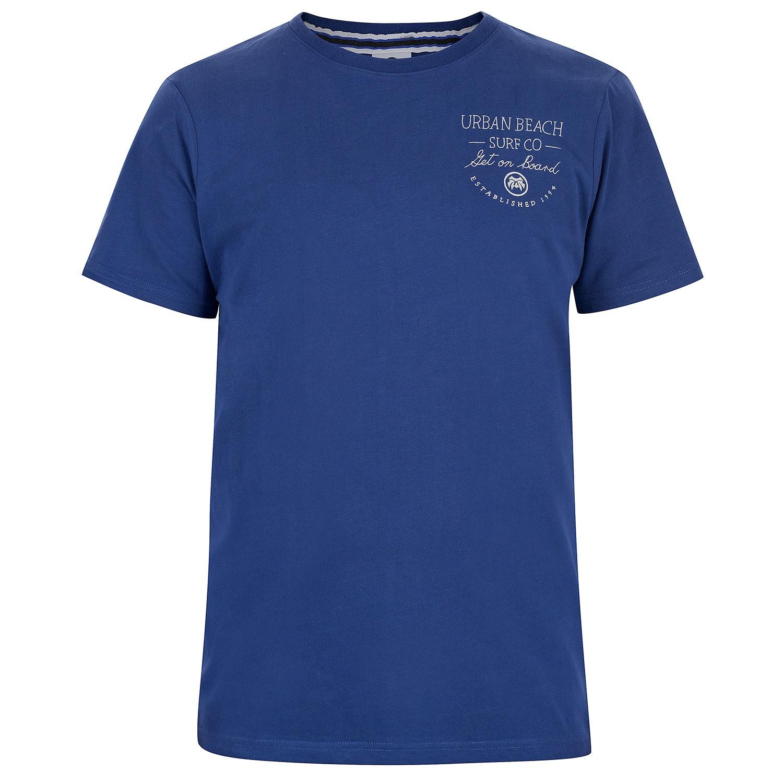 Mens Blue Scribble T-Shirt