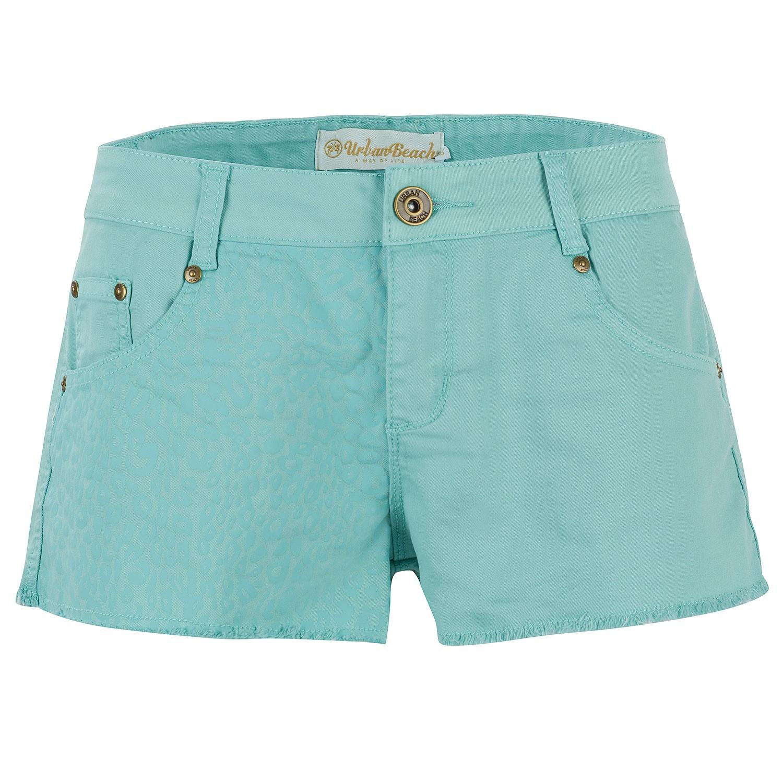 Women's Blue Rockstar Boyfriend Shorts