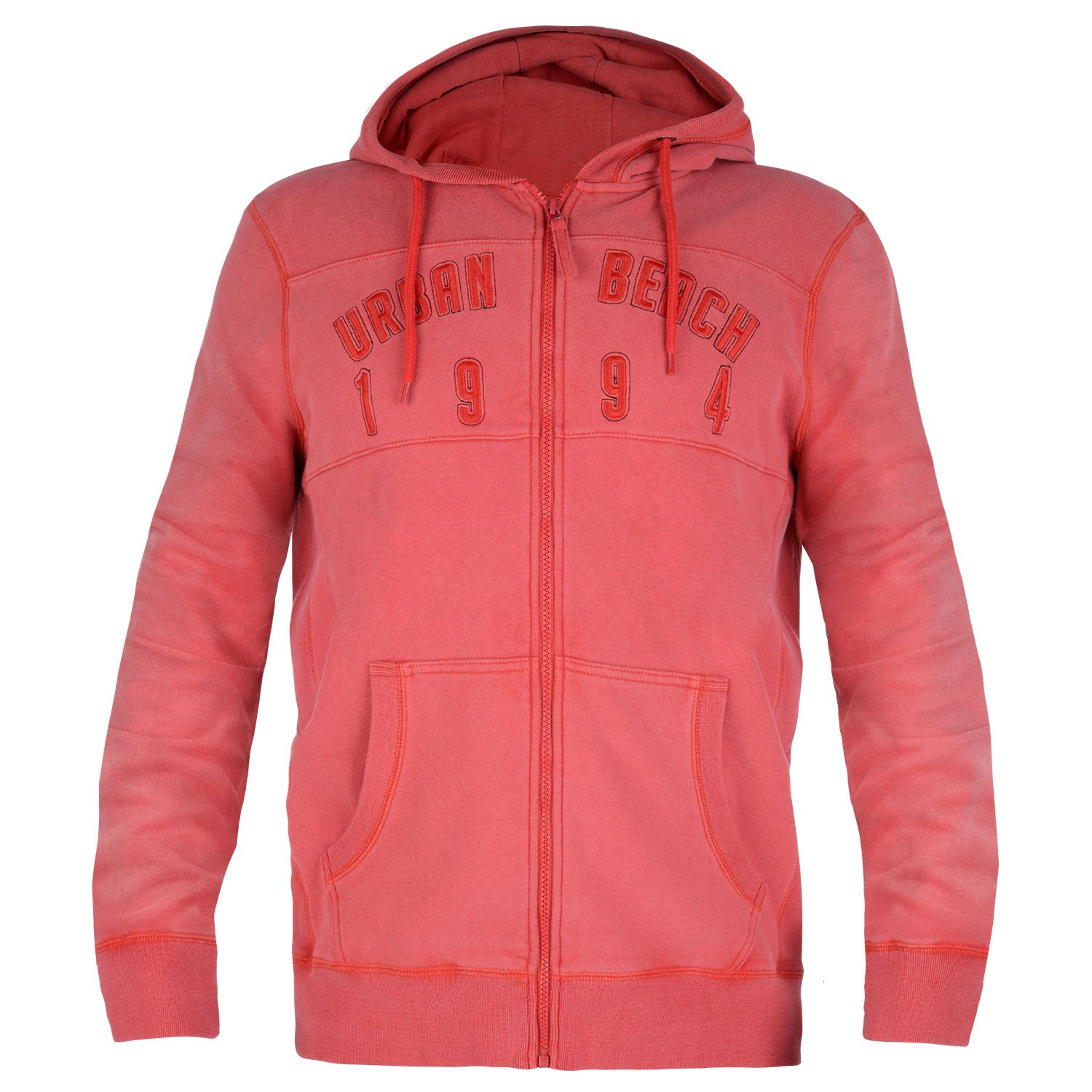 Men's Aroa Zip Hoody - Red