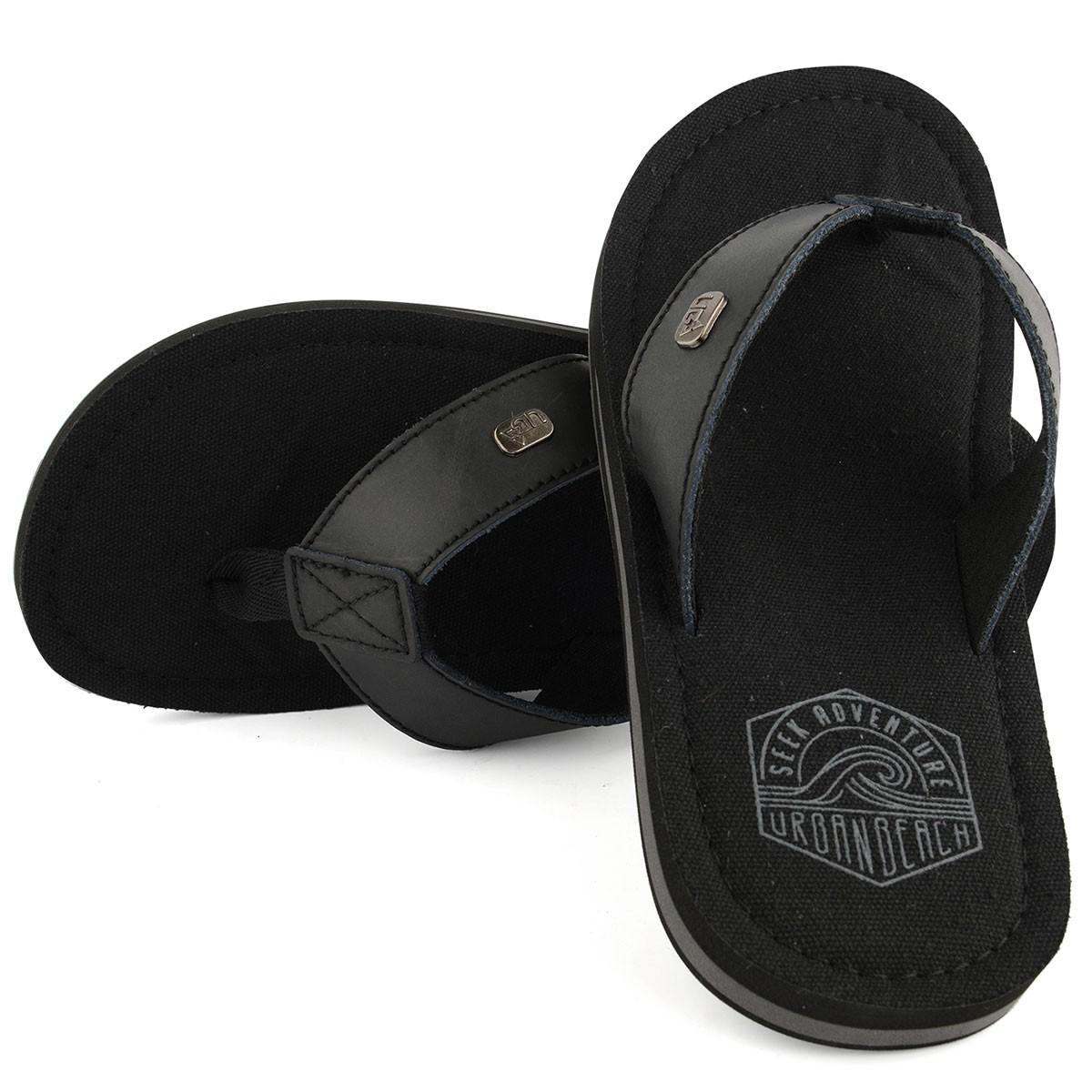 Mens Kaneohe Flip Flop - Black