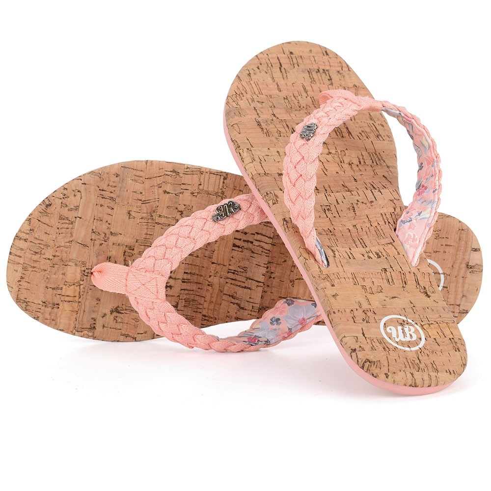 Womens Newlyn Flip Flops - Cork