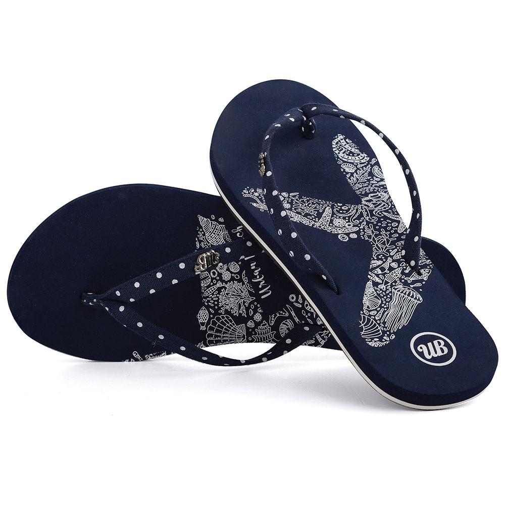 Womens Penryn Flip Flops - Navy