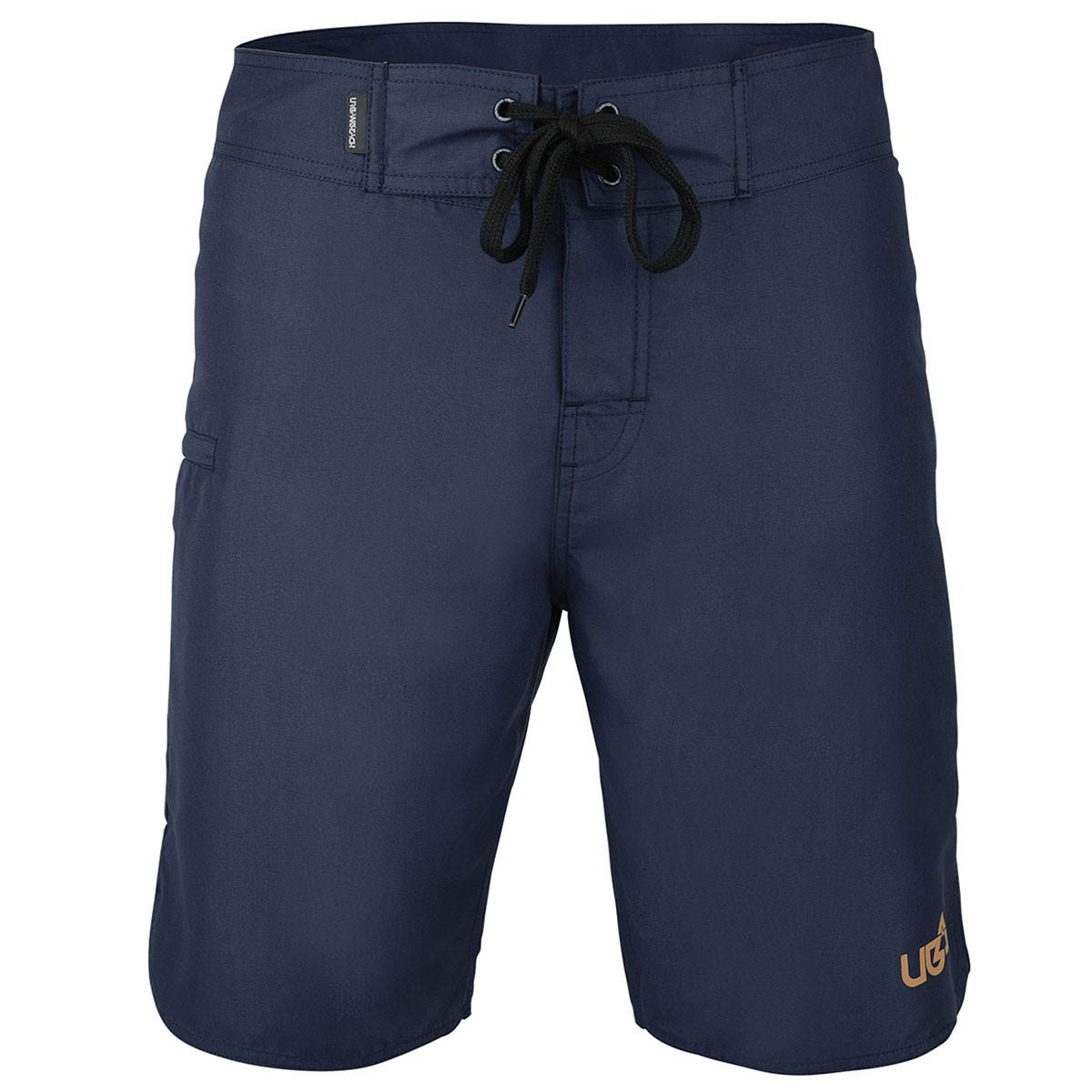 Mens Jaws Board Shorts - Navy