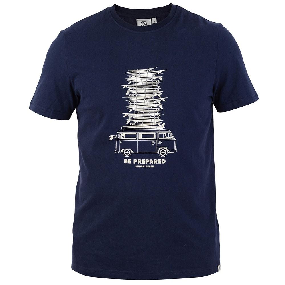 Mens Quill T-Shirt - Navy