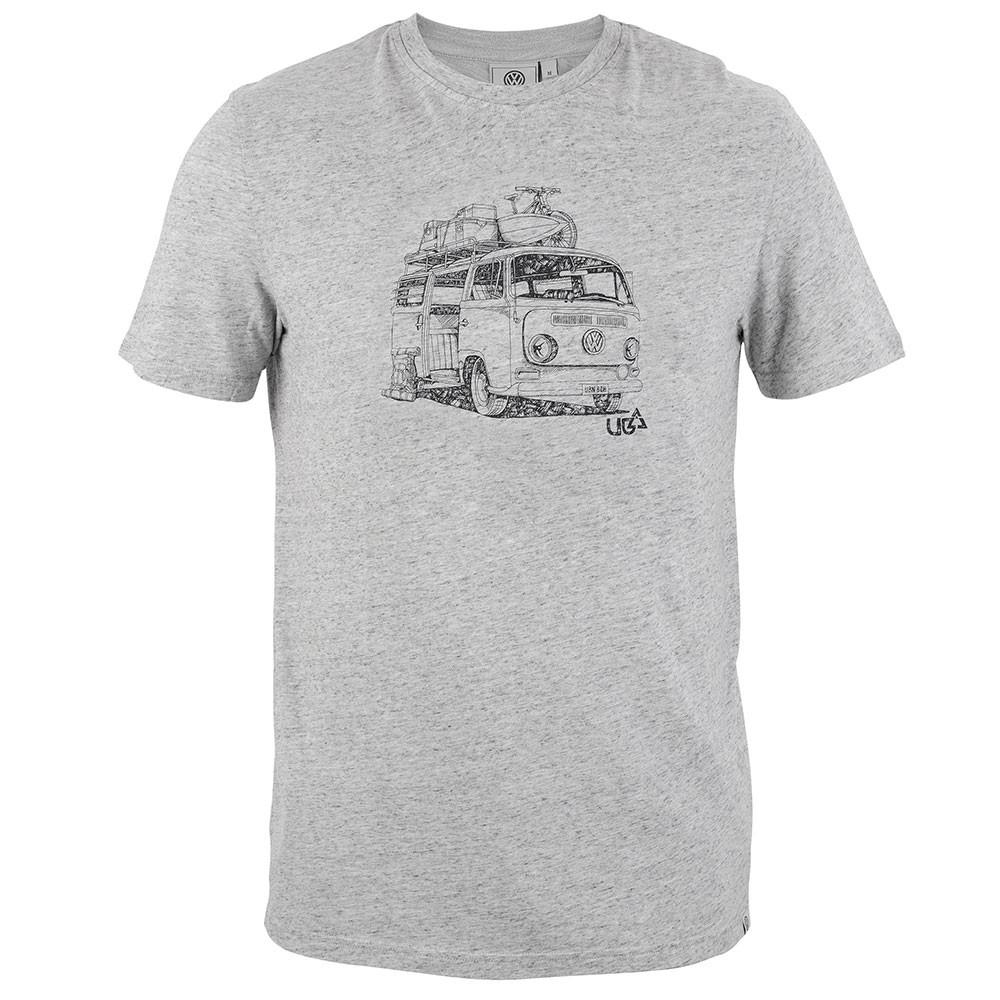 Mens Kunal T-Shirt - Grey