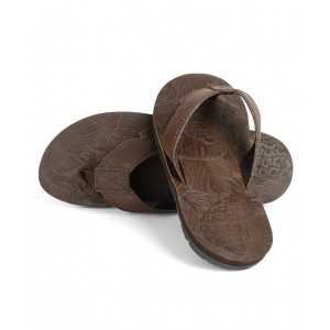 Mens Thar Leather Flipflops