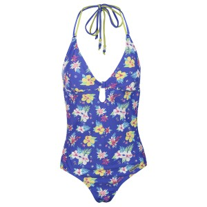 Womens Blue Cadillac Cruise Swimsuit