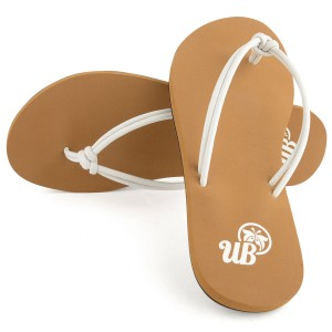 Womens Savai Flip Flop - White