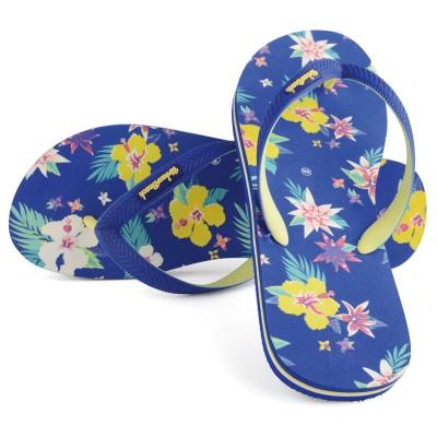 Women's Bayfront Beach Blue Flip Flops