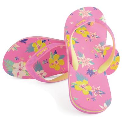 Women's Bayfront Beach Pink Flip Flops