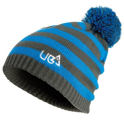 Bob Striped Knitted Beanie Hat