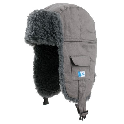 Gruff Grey Deerstalker Hat