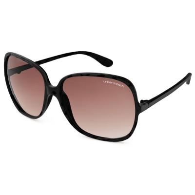 Womens Hollywood Round Frame Sunglasses Black