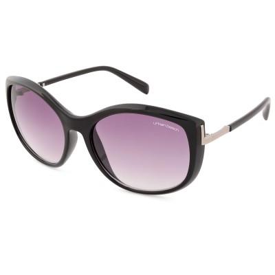 Womens Selina Cat Eye Sunglasses Black