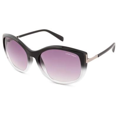 Womens Selina Cat Eye Sunglasses Two-Tone Slate