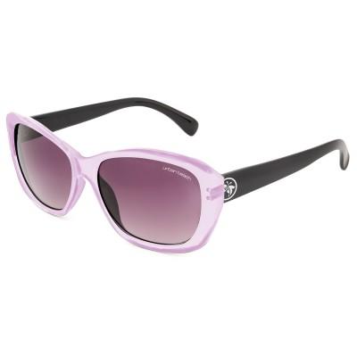 Womens Sleek Cat Eye Sunglasses Pink