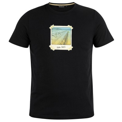 Mens Polaroid T-Shirt Black