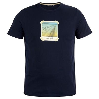 Mens Polaroid T-Shirt Blue