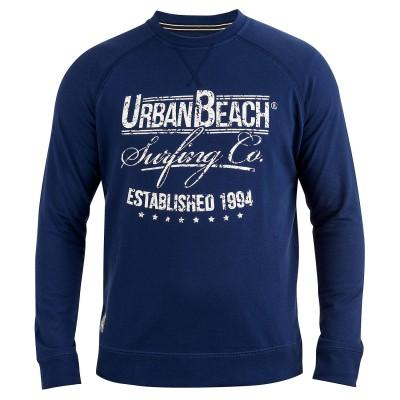 Mens Surfing Co Sweatshirt Dark Blue