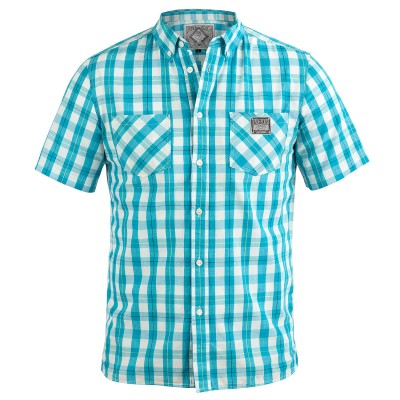 Mens Shirt Iggie Blue