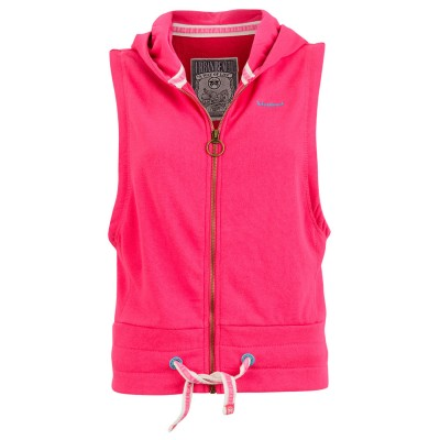Womens Beta Full Zip Sleeveless Hoodie